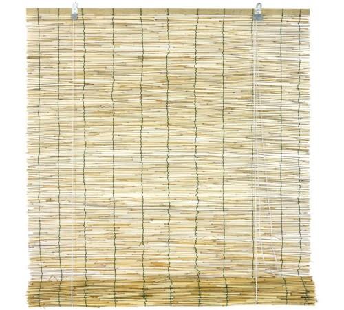Arella con carrucola in bambù tenda frangisole per la 120 x 260 centimetri