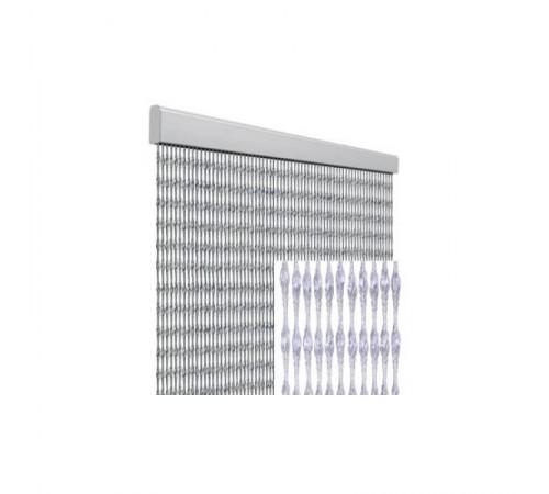 Tenda anti mosche per la casa 120 x 230 centimetri trasparente