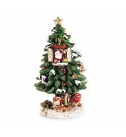 Albero di Natale girevole con melodie Natalizie idea regalo per Natale