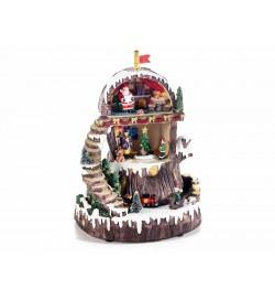 Carillon Natalizio  girevole decorazione per il Natale