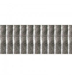 Tenda anti mosche per la casa in ciniglia 100 x 220 centimetri tortora