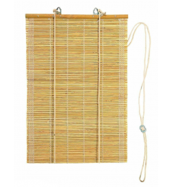 Tenda frangisole in canne di bambù per porte e finestre 100 x 160 centimetri