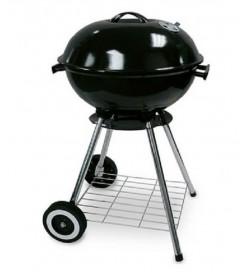 Barbecue rotondo in acciaio 45 centimetri alimentato a carbonella