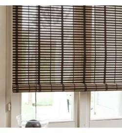 Tenda frangisole per porte e finestre in listelli di bambù 100 x 160 centimetri