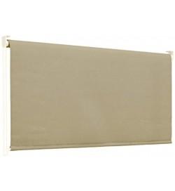 Tenda da sole a caduta 150 x 250 centimetri tenda parasole verticale color beige