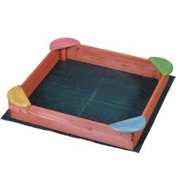 Sabbiera in legno gioco per casa e giardino per bambini