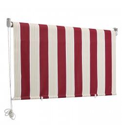 Tenda da sole a caduta 150 x 250 centimetri tenda parasole verticale colore rigato bordeaux