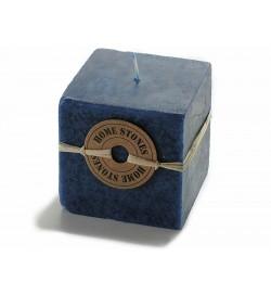 Candele d'ambiente quadrate profumate al mirtillo confezione da 6 pezzi