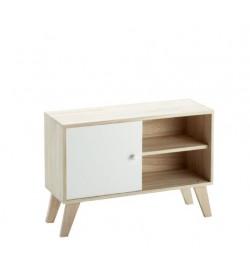 Mobile soggiorno moderno in legno 70 x 49 centimetri