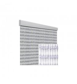 Tenda anti mosche per la casa 100 x 220 centimetri trasparente
