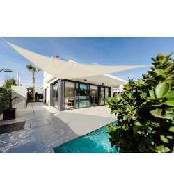 Vela ombreggiante per veranda e giardino 3,6 x 3,6 x 3,6 metri